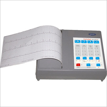 Channel Ecg Machine