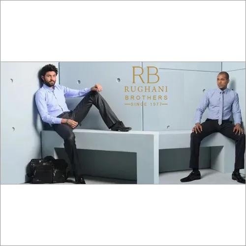 Fiber Dyed Guranteed Colour Fastness Men'S Corporate Wear