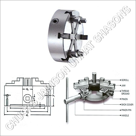 6 Jaw Special Chuck