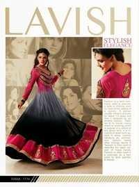 Cream Designer Salwar Suit