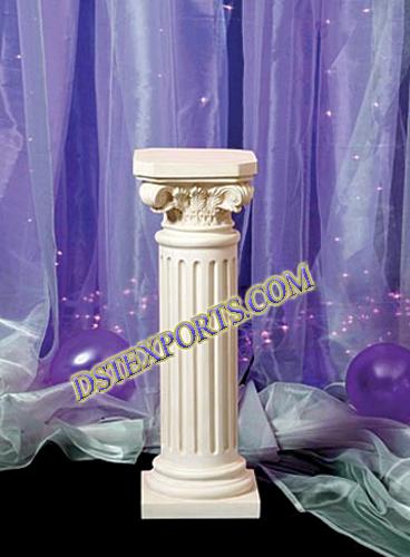 Wedding Small Roman Pillars