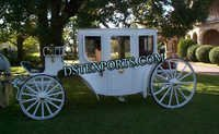 GLASS COVERED WEDDING CARRIAGE