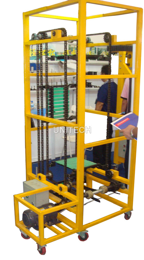 Vertical Slat Chain Conveyor