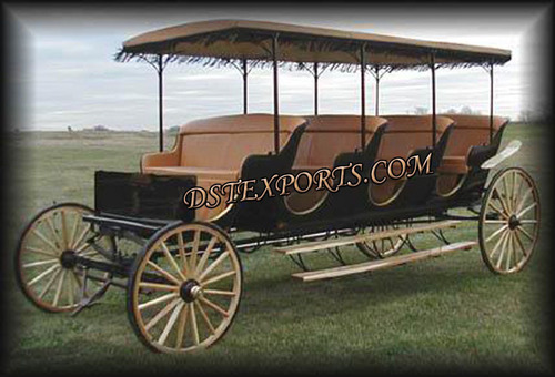 Limousin Horse Drawn Carriage