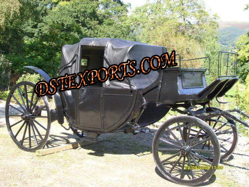 Black Beauty Horse Carriage