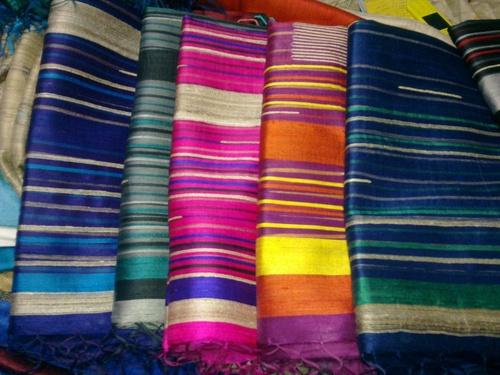 100% Pure Dupion Raw Silk Sarees