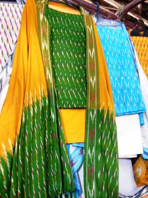100% Ikkat Cotton Suits