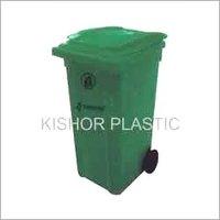Plastic Industrial Waste Bin With Wheels