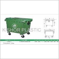 Plastic Industrial Waste Bins  1100 Ltrs