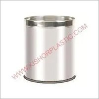 Stainless Steel Open Plain Dustbins