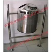 Stainless Steel Commercial Hanging and PoleDustbin