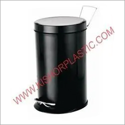 Stainless Steel Pedal Coloured Dustbin