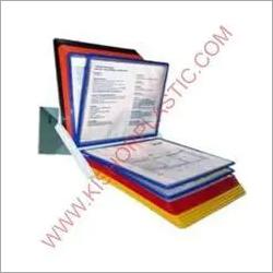 Horizontal Sop Display Information Holder