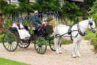Antique Black Victoria Carriage