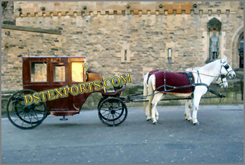 Latest Lighted Covered Carriage