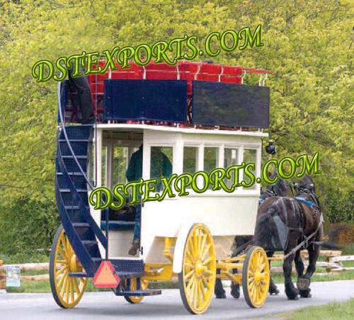 Double Decer Tourist Horse Carriage