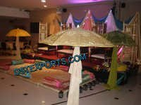 Wedding Stage Embroidered Umbrellas