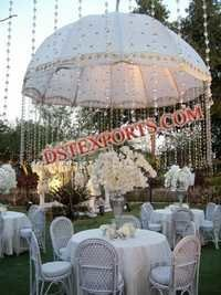 Wedding Stage Embroidered Umbrella