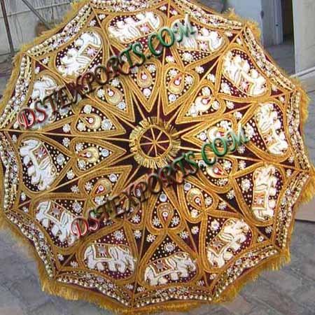 Matching Wedding Umbrella