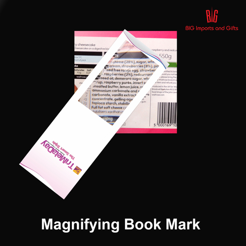 Customized Bookmark Magnifier