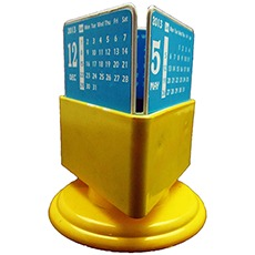 Rotating Calendar Pen Holder