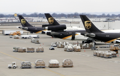 International UPS Courier service
