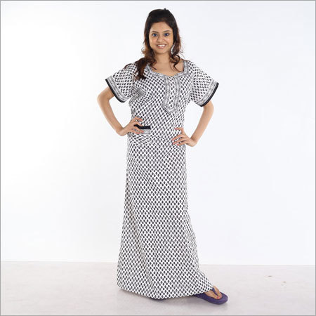 Cotton Jaipuri Nighty