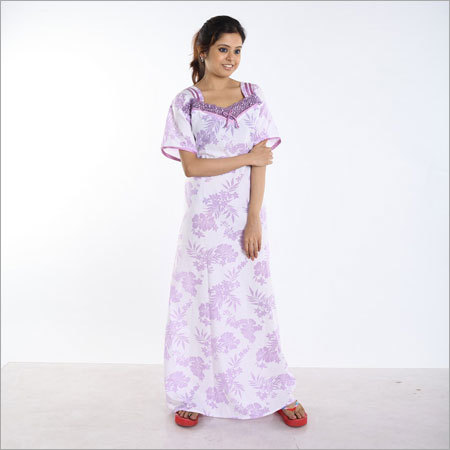 Boutique Cotton Printed Nighty