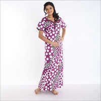 Shekani Printed Cotton Nighty