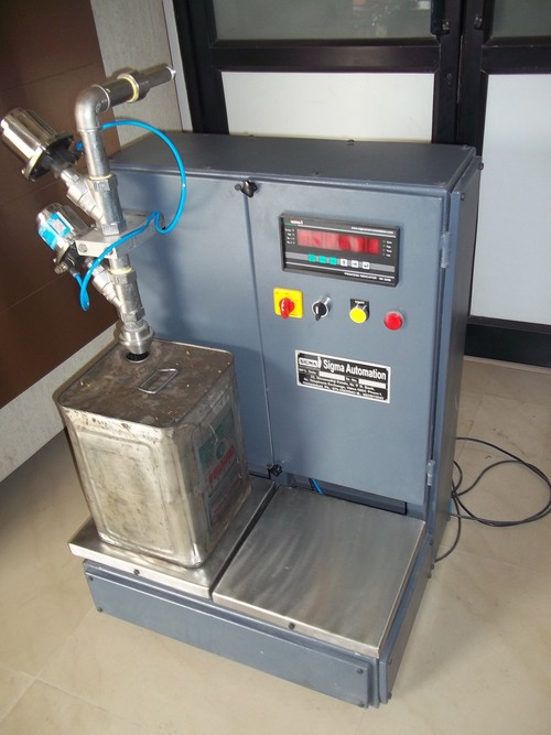 Edible Oil Tin Filling Machine