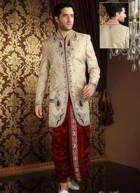 Adorning Dhoti Style Sherwani
