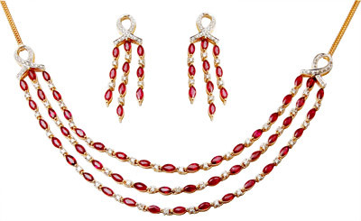Beautiful Earring Necklace Set For Girls