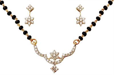 Mangalsutra Diamond Necklace Jewelry