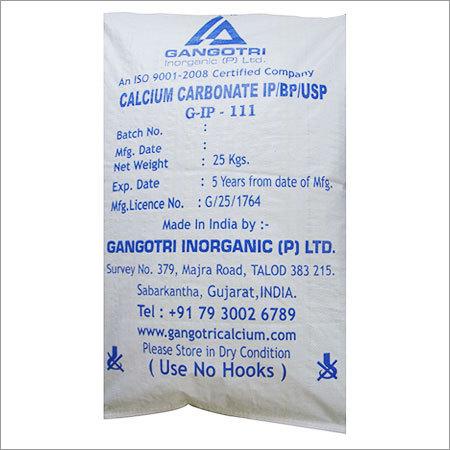 Calcium Carbonate PPT / IP/ BP/ USP