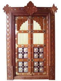 Brown Wood Doors