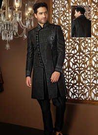 Black Sherwani