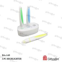 3 In 1 Highligther Pen Stand