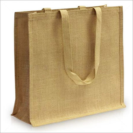 Custom Jute Shopping Bag