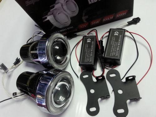 HID Fog Projector Lens Kit H3 Luces De Xenon