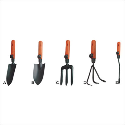 Garden tool Set Of 5 Pcs. (With Plastic Handle)