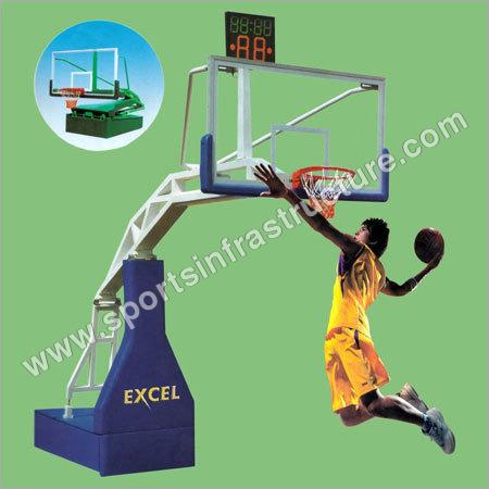 Moveable Basketball Poles