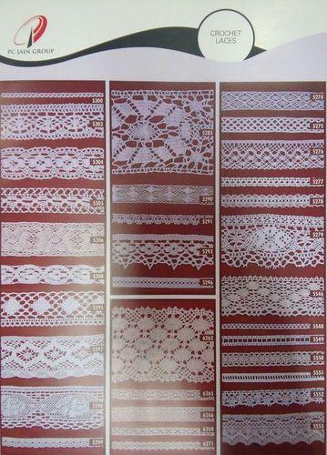Crochet Laces & Fabrics
