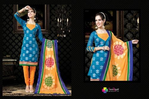 New Style Designer Salwar Kameez with Fabulous Dupatta