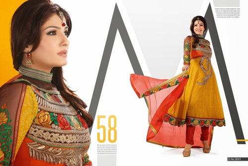 Partywear Anarkali dresses