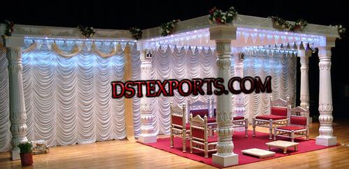 Wedding Royal Six Pillars Mandap