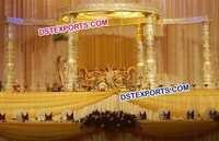 Wedding Round Devdas Mandap