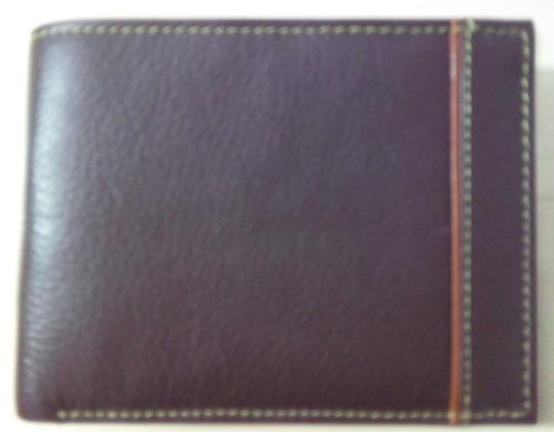 Designed Upper Leather Bifold Wallet