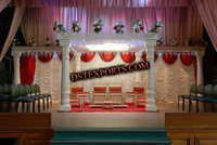 Indian Wedding Round Pearl Mandap