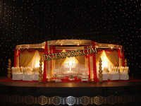 New Wedding Golden Flower Mandap