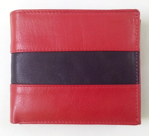 Executive Slim bifold Leather Wallet